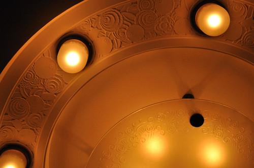 二階ホール照明